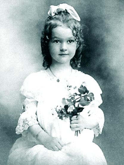 Sybil Silkwood_As a girl